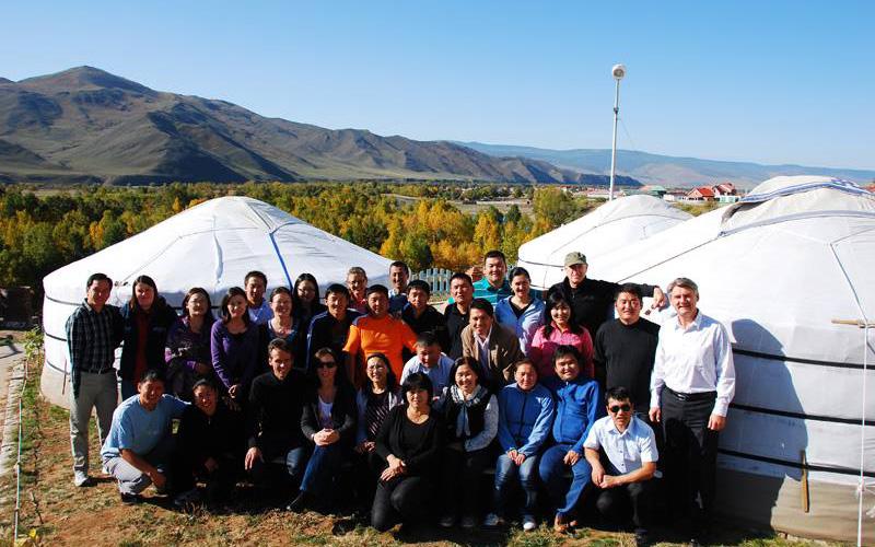 Группа-в-Монголии